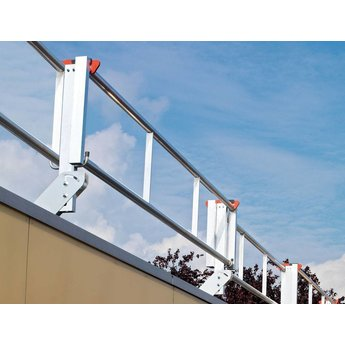 RSS dakrandbeveiliging RSS dakrandbeveiliging plat dak  complete set 4 meter