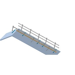 Complete set 9 meter Roof Shelter kopgevelbeveiliging