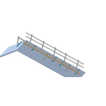 Roof Shelter kopgevelbeveiliging complete set 9 meter