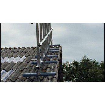 Roof Shelter kopgevelbeveiliging complete set 12 meter
