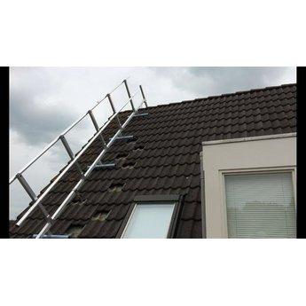 Roof Shelter kopgevelbeveiliging complete set 18 meter
