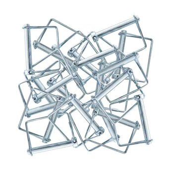 Borgclips / Borgpen set van 25