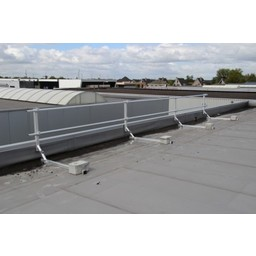 ASC ASC Dakrandbeveiliging complete set 12 meter - Plat dak