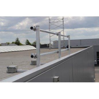 ASC Dakrandbeveiliging complete set 12 meter - Plat dak