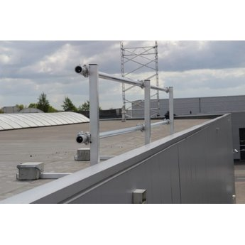 ASC Dakrandbeveiliging complete set 18 meter - Plat dak