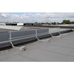ASC ASC Dakrandbeveiliging complete set 21 meter - Plat dak
