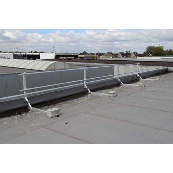 ASC Dakrandbeveiliging complete set 24 meter - Plat dak