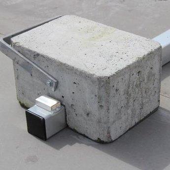 ASC Dakrandbeveiliging complete set 30 meter - Plat dak
