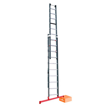 3 delige ladder Premium Smart Level en Top Safe 3 x 12