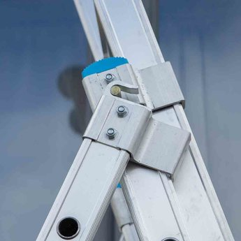 Maxall Driedelige ladder 3x9 Maxall Basic I werkhoogte 6,5 meter