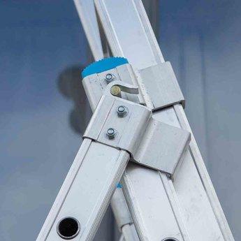 Actie: Driedelige ladder 3x12 Maxall Basic | werkhoogte 8,75 m.