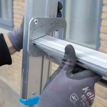 Actie: Driedelige ladder 3x14 Maxall Basic | werkhoogte 10,0 m.