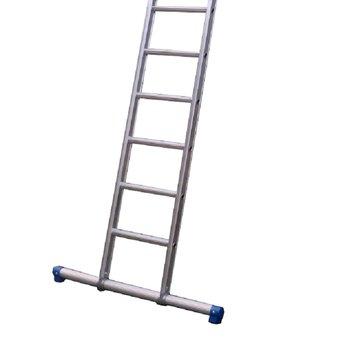 Maxall Enkele ladder 1x28 Maxall recht met stabiliteitsbalk