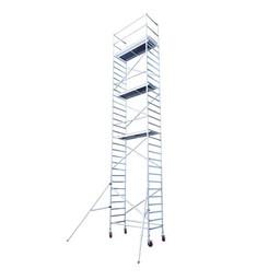 Rolsteiger Basis 90 x 190 x 9,2 meter werkhoogte   - met aluminium kantplankset