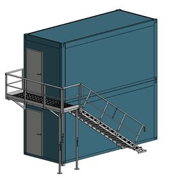 Containertrap Staal 2.3