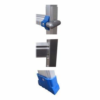 Multifunctionele Vouwladder 4x5 treden