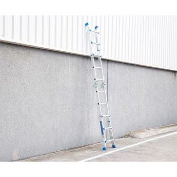 Multifunctionele Vouwladder 4x3 treden