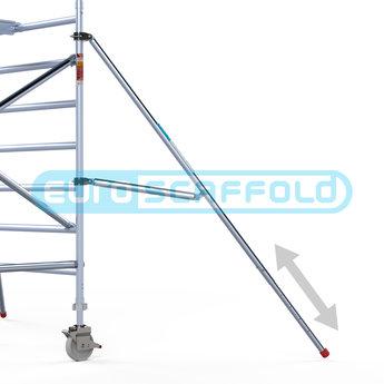Rolsteiger Voorloopleuning Enkel 75 x 250 x 8,2 meter werkhoogte