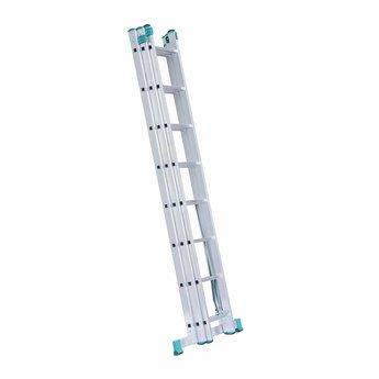 Driedelige Reformladder  3x8  Eurostairs