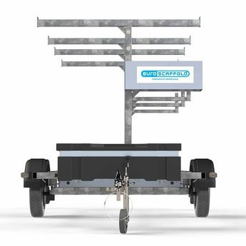 Maandactie: Steigeraanhanger voor het vervoeren van rolsteigers met lengtemaat tot 305 cm