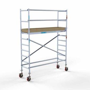 Rolsteiger Basis 75 x 250 x 4,2 meter werkhoogte met lichtgewicht platform