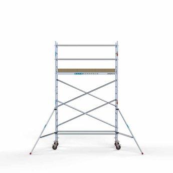Rolsteiger Basis 75 x 250 x 5,2 meter werkhoogte met lichtgewicht platform