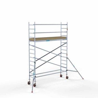 Rolsteiger Basis 75 x 305 x 5,2 meter werkhoogte met lichtgewicht platform