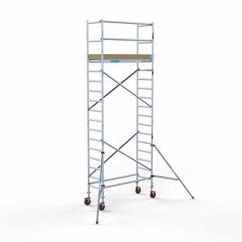 Rolsteiger Basis 75 x 190 x 6,2 meter werkhoogte met lichtgewicht platform