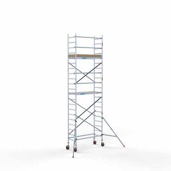 Rolsteiger Basis 75 x 190 x 7,2 meter werkhoogte met lichtgewicht platform