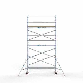 Rolsteiger Basis 75 x 305 x 7,2 meter werkhoogte met lichtgewicht platform