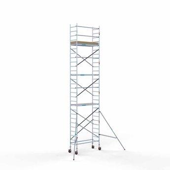 Rolsteiger Basis 75 x 190 x 9,2 meter werkhoogte met lichtgewicht platform
