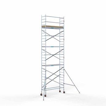 Rolsteiger Basis 75 x 250 x 9,2 meter werkhoogte met lichtgewicht platform