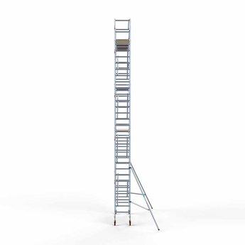 Rolsteiger Basis 75 x 250 x 10,2 meter werkhoogte met lichtgewicht platform