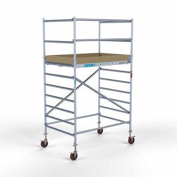 Rolsteiger Basis 135 x 190 x 4,2 meter werkhoogte met lichtgewicht platform