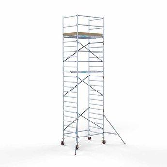 Rolsteiger Basis 135 x 190 x 8,2 meter werkhoogte met lichtgewicht platform