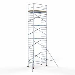 Rolsteiger Basis 135 x 250 x 10,2 meter werkhoogte met lichtgewicht platform