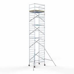 Rolsteiger Basis 135 x 190 x 11,2 meter werkhoogte met lichtgewicht platform