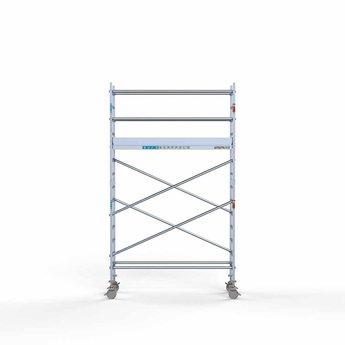 Rolsteiger Compleet 75 x 250 x 5,2 meter werkhoogte met lichtgewicht platform