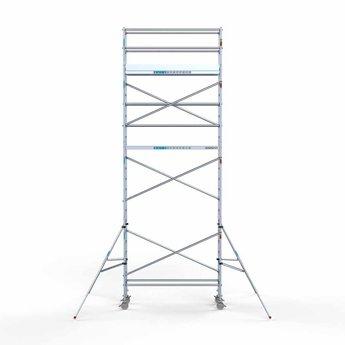 Rolsteiger Compleet 75 x 250 x 8,2 meter werkhoogte met lichtgewicht platform