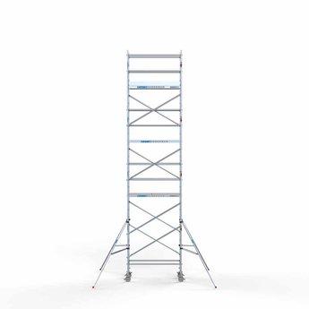 Rolsteiger Compleet 75 x 190 x 9,2 meter werkhoogte met lichtgewicht platform