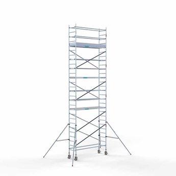 Rolsteiger Compleet 75 x 250 x 9,2 meter werkhoogte met lichtgewicht platform