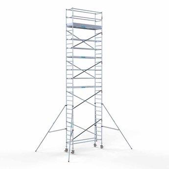 Rolsteiger Compleet 75 x 250 x 10,2 meter werkhoogte met lichtgewicht platform