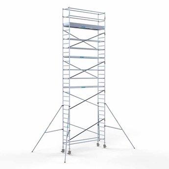 Rolsteiger Compleet 75 x 305 x 10,2 meter werkhoogte met lichtgewicht platform