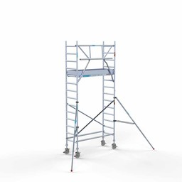 Rolsteiger Voorloopleuning Enkel 75 x 190 x 5,2 meter werkhoogte