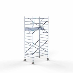 Rolsteiger Voorloopleuning Enkel 135 x 190 x 5,2 meter werkhoogte