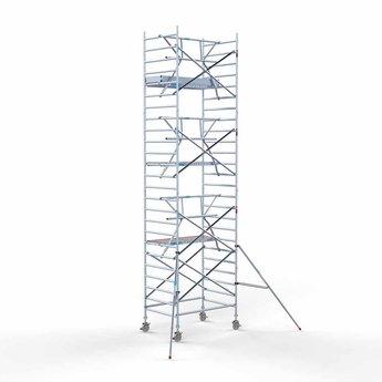 Rolsteiger Voorloopleuning Enkel 135 x 190 x 8,2 meter werkhoogte