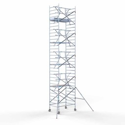 Rolsteiger Voorloopleuning Enkel 135 x 190 x 10,2 meter werkhoogte met lichtgewicht platform
