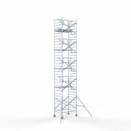 Rolsteiger Voorloopleuning Enkel 135 x 190 x 11,2 meter werkhoogte