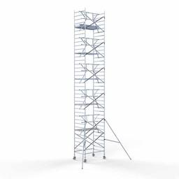 Rolsteiger Voorloopleuning Enkel 135 x 190 x 12,2 meter werkhoogte