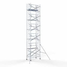 Rolsteiger Voorloopleuning Enkel 135 x 250 x 12,2 meter werkhoogte met lichtgewicht platform